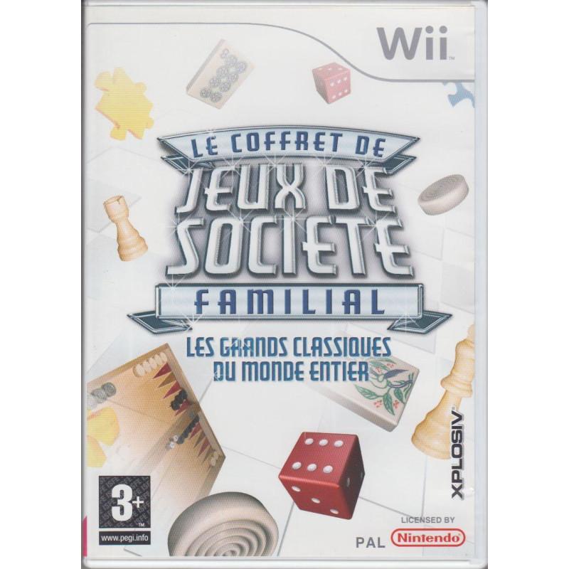 Le Coffret De Jeux De Societe Familial Wii