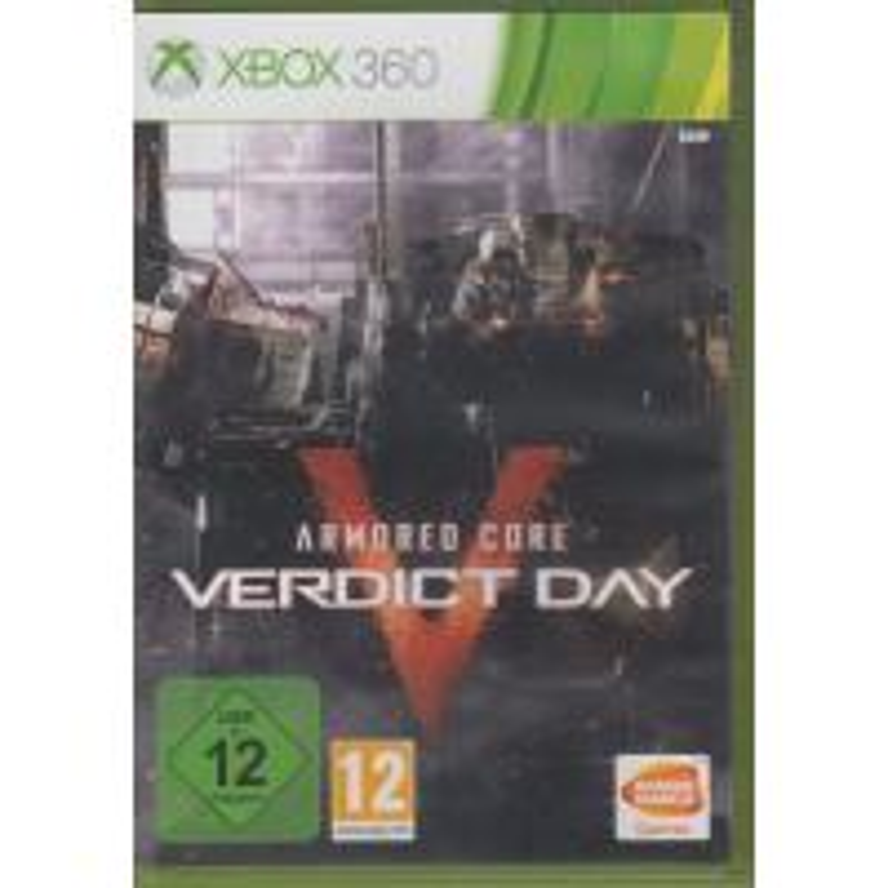 Armored Core : Verdict Day XBOX360