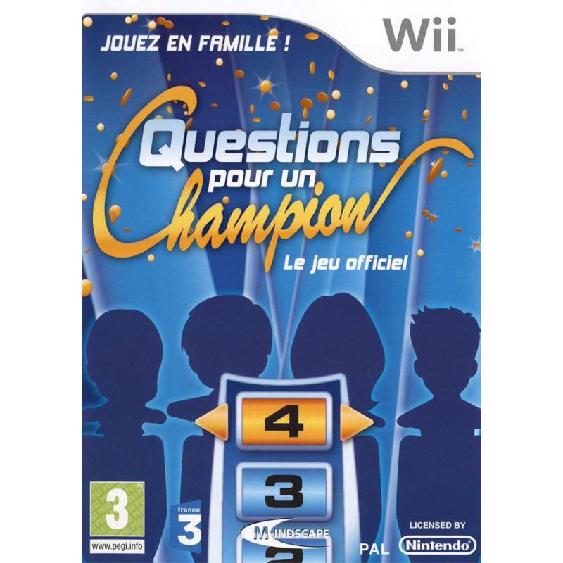 Questions pour un Champion WII