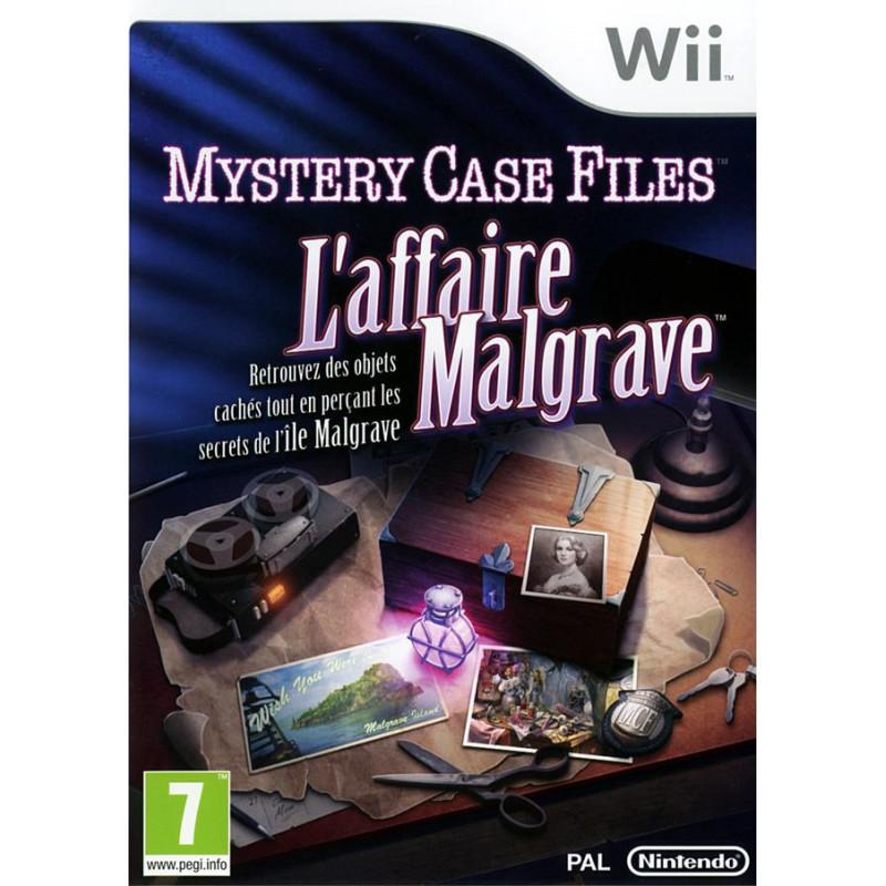 Mystery Case Files : L'Affaire Malgrave Wii