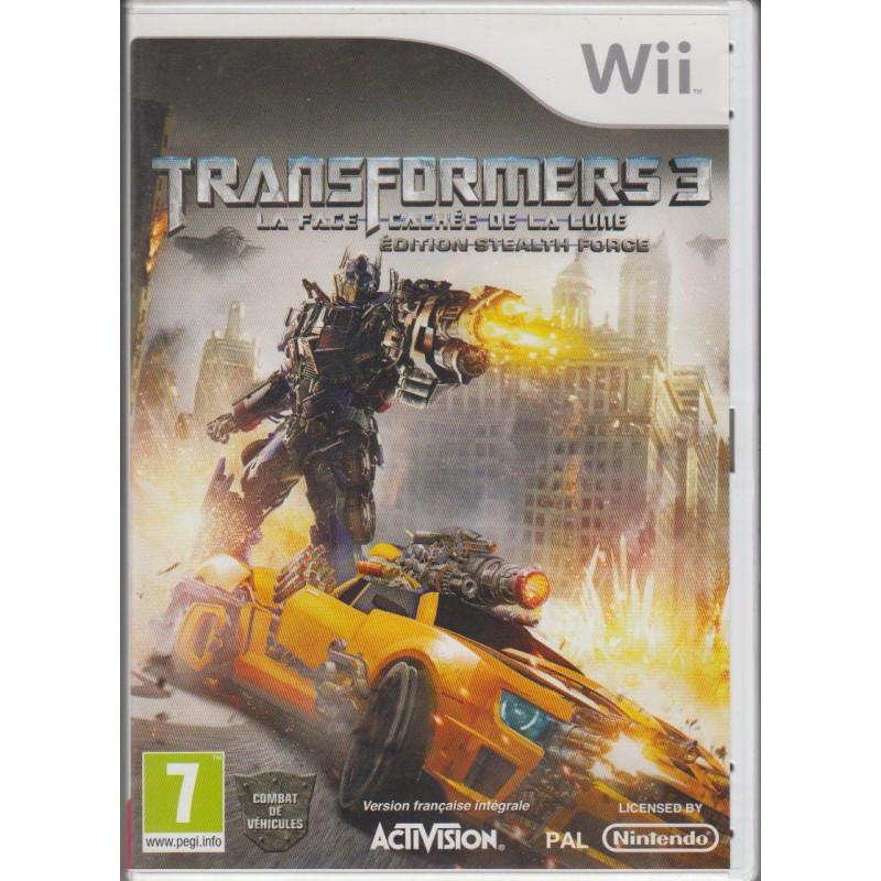 Transformers 3 : La Face Cachée de la Lune - Edition Stealth Force WII