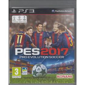 PES Pro Evolution Soccer 2017 PS3