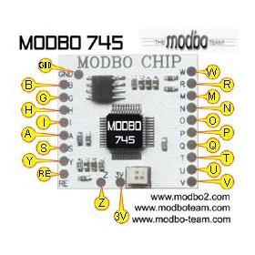 Puce Modbo 745 V1-V18 PS2