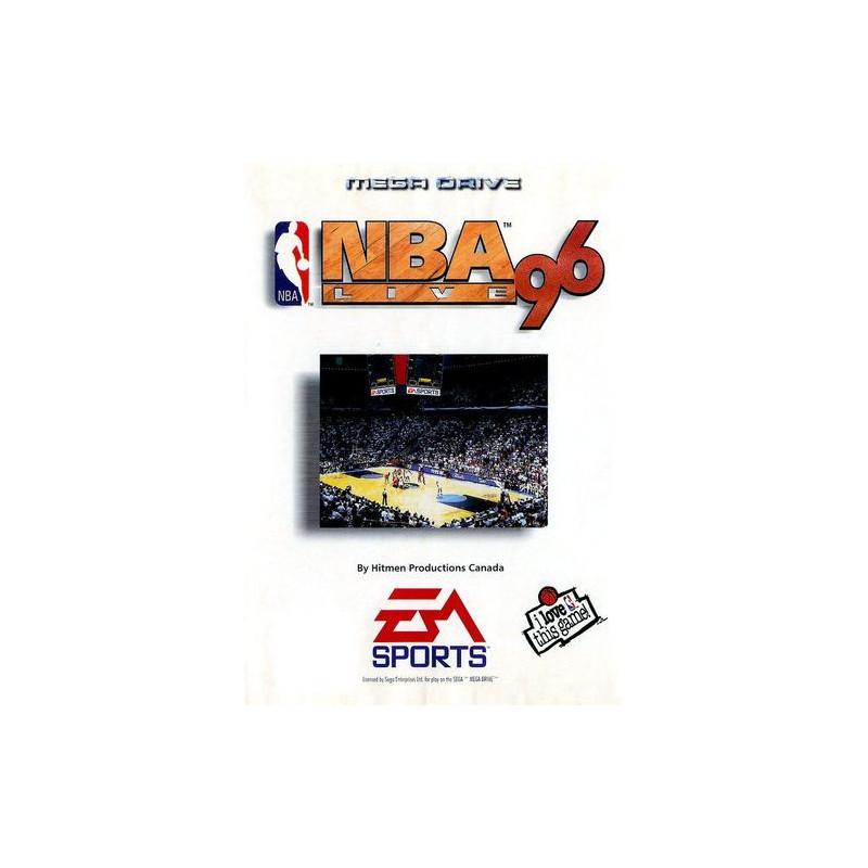 NBA Live 96 en boîte MD