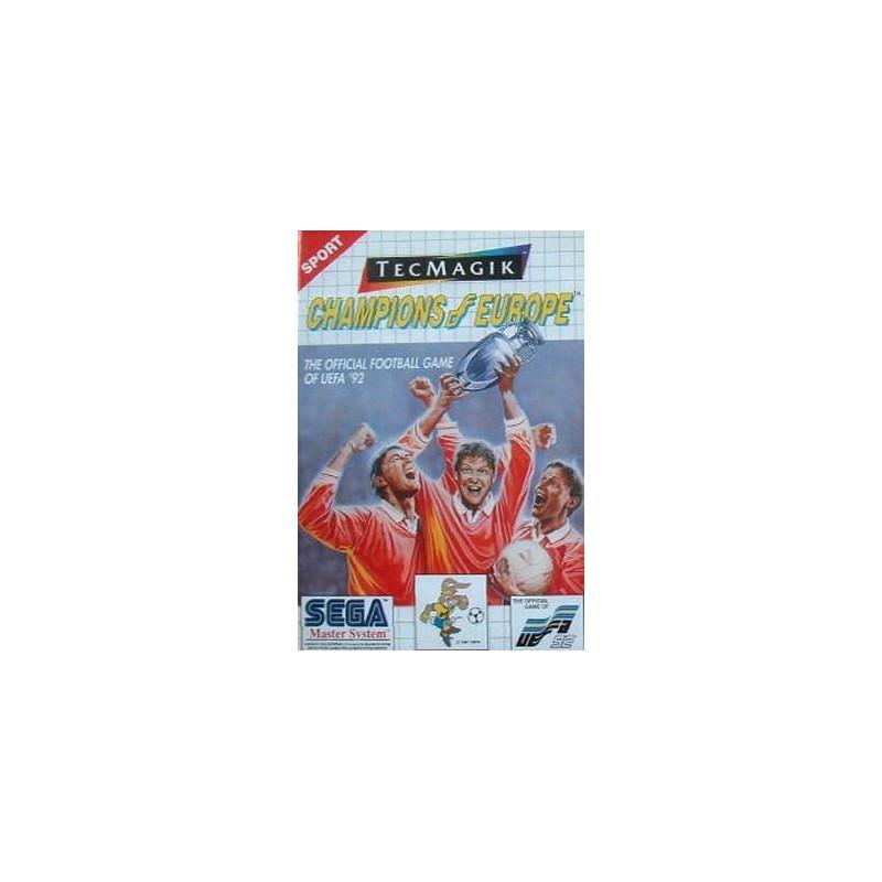 Champions of Europe en boîte MS