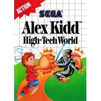 Alex Kidd High-Tech World en boîte MS
