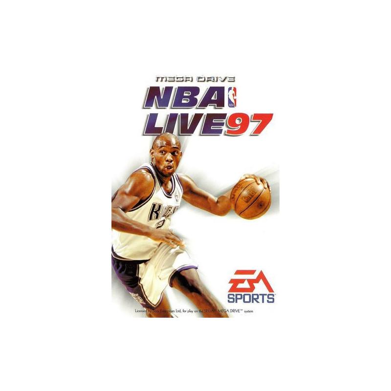 NBA Live 97 en boîte MD