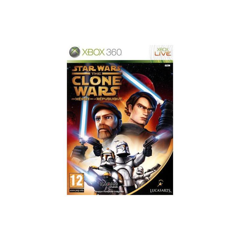 Star Wars The Clone Wars : Les Héros de la République Xbox360