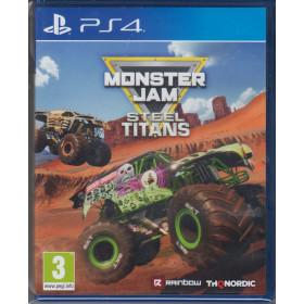 Monster Jam : Steel Titans PS4