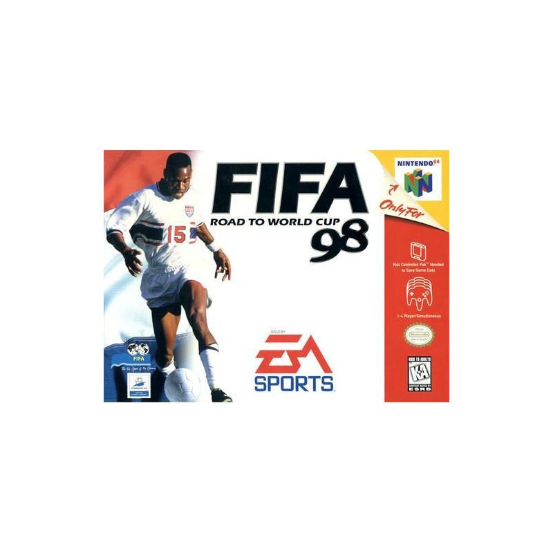 FIFA 98 : En route pour la Coupe du Monde N64