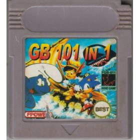 Cartouche Game Boy 101 Jeux GB