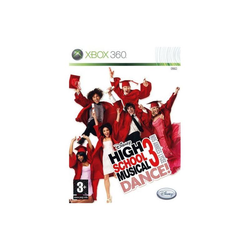 High School Musical 3 Dance ! Nos Années Lycée D-Xbox