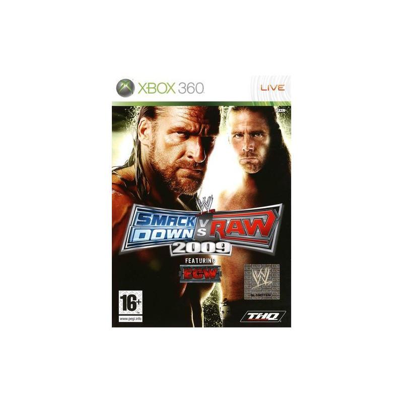 WWE Smackdown vs. Raw 2009 classic D-Xbox360