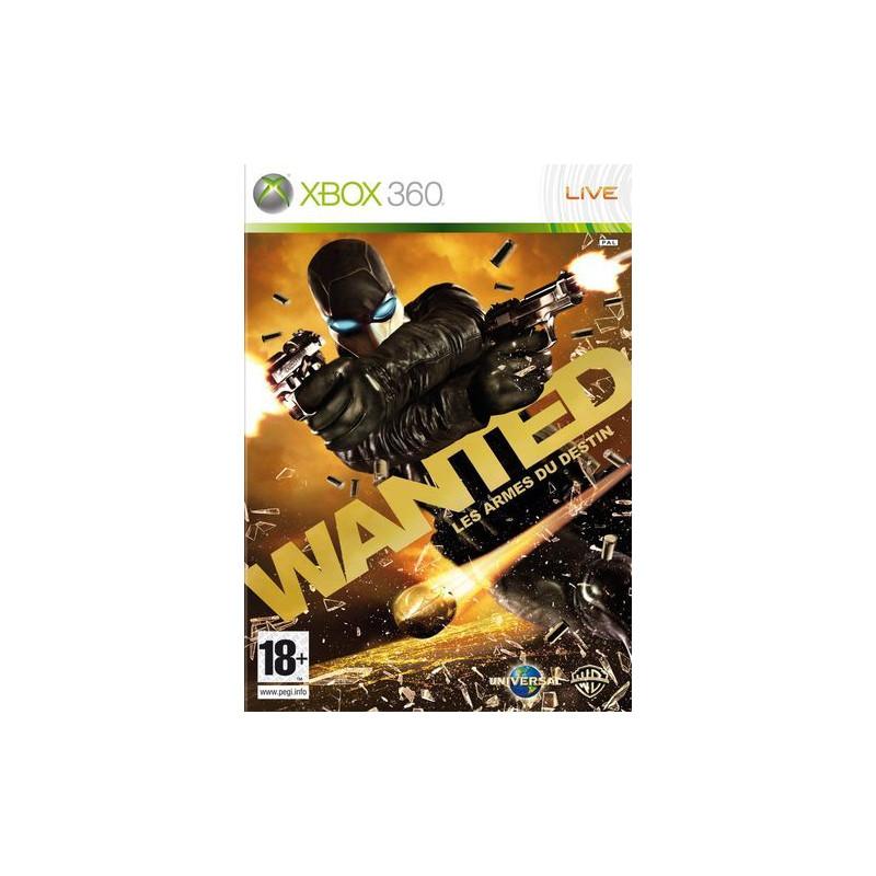 Wanted: les armes du destin D-XBOX360