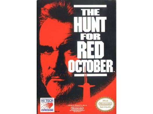 A la poursuite de l'Octobre Rouge NES