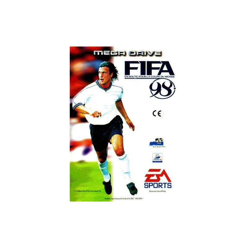 FIFA 98 En Route pour la Coupe du Monde en boîte MD