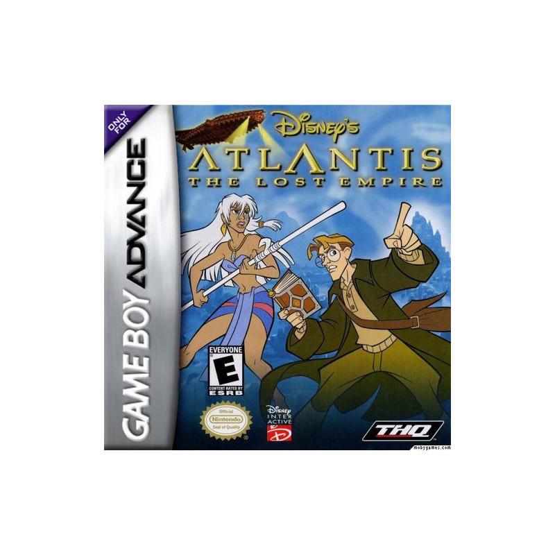 Atlantide : L'Empire Perdu en boite GBA