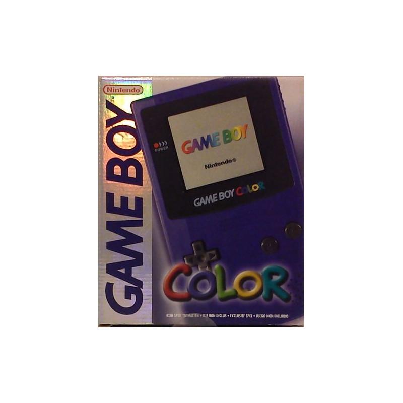 Console Game Boy Color Verte en boite