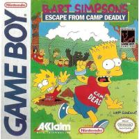 Bart Simpson's Escape From Camp Deadly GB