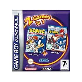 2 jeux en 1 Sonic Advance...