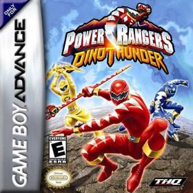 Power ranger dino thunder GBA