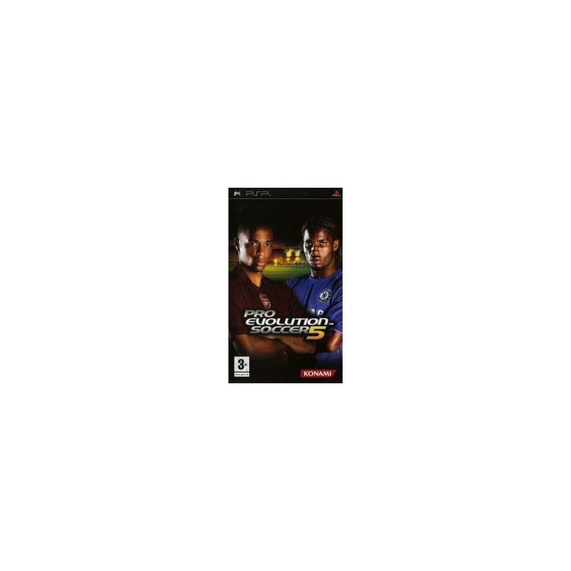 Pro Evolution Soccer 5 (import allemand) PSP