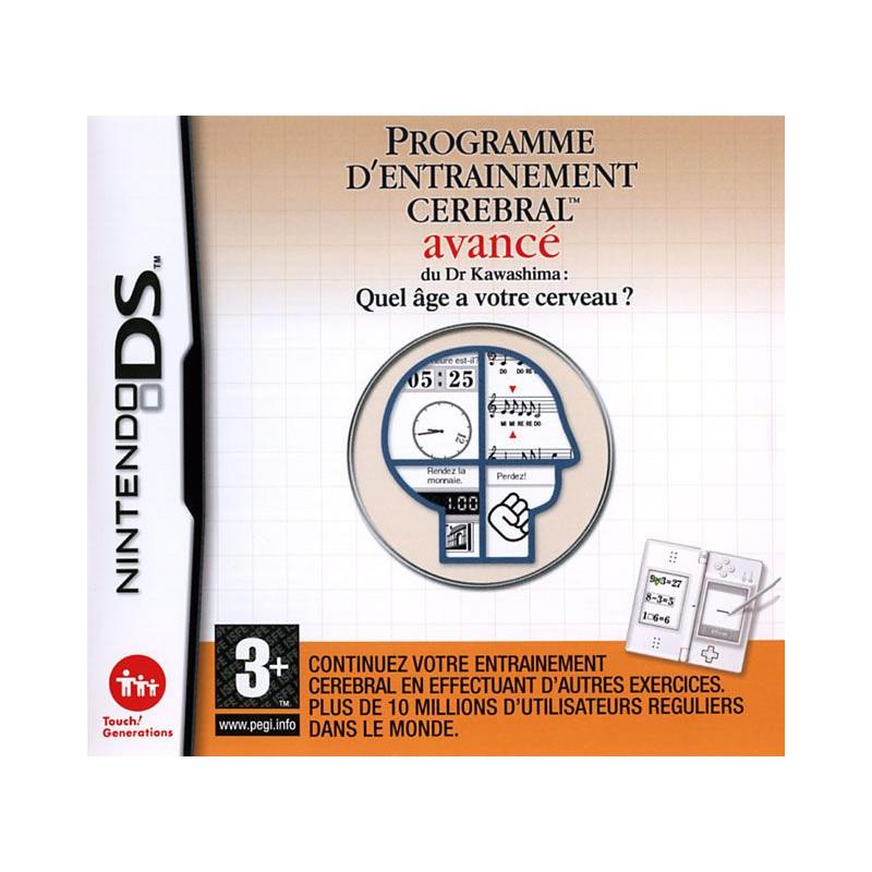 Programme d'entrainement cérébral avancé DS
