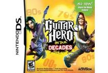 Guitar hero decades DS