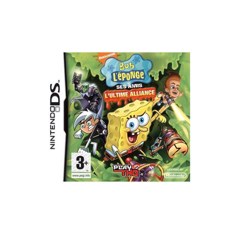 Bob l'éponge ultimate alliance DS