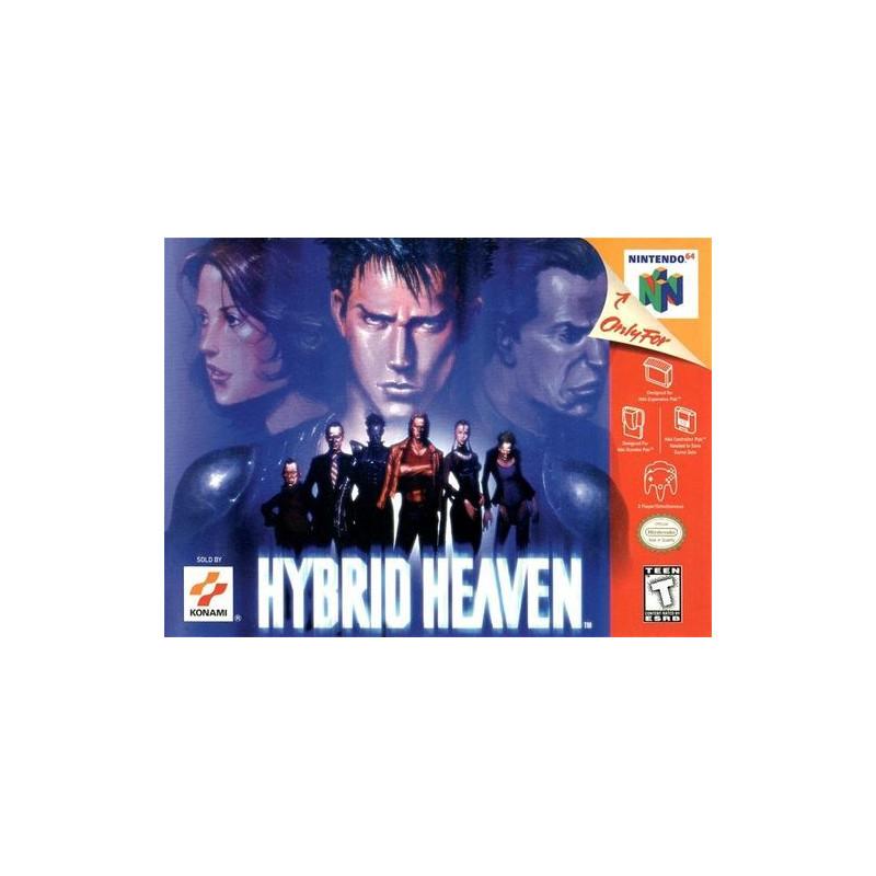 Hybrid Heaven en boite N64