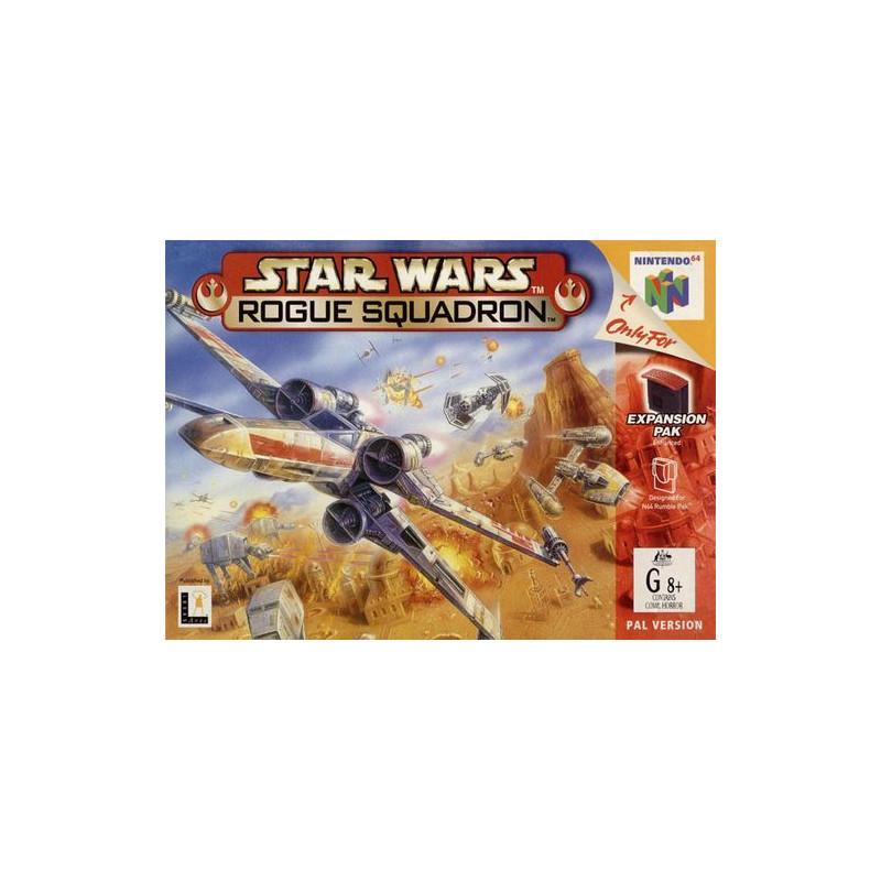 Star Wars : Rogue Squadron en boite N64