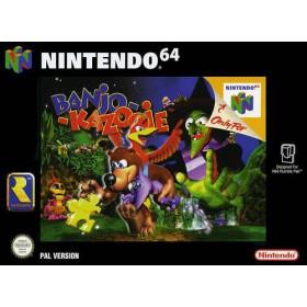 Banjo-Kazooie en boite N64
