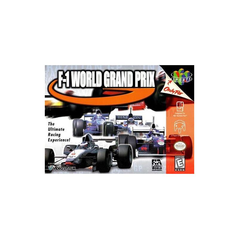 F1 World GP en boite N64