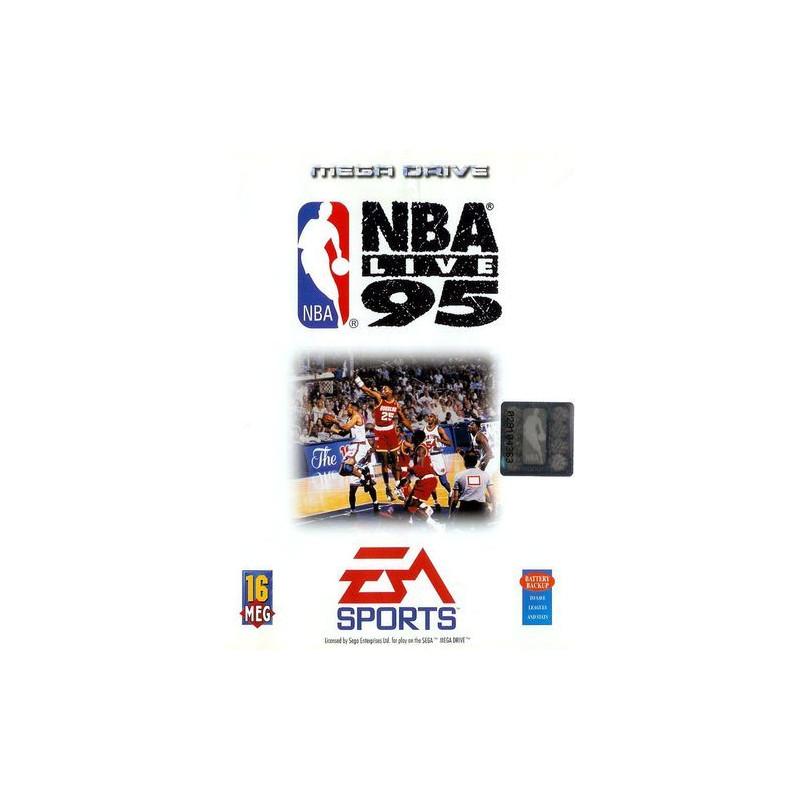 NBA Live 95 en boîte MD