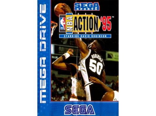 NBA Action '95 Starring David Robinson en boîte MD