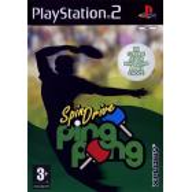 SpinDrive Ping Pong PS2