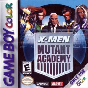 X-Men Mutant Academy GBC