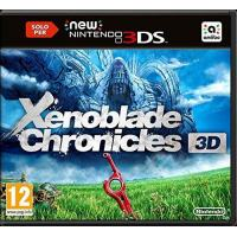 Xenoblade Chronicles 3D (Pochette Anglaise - Jeu en FR) 3DS