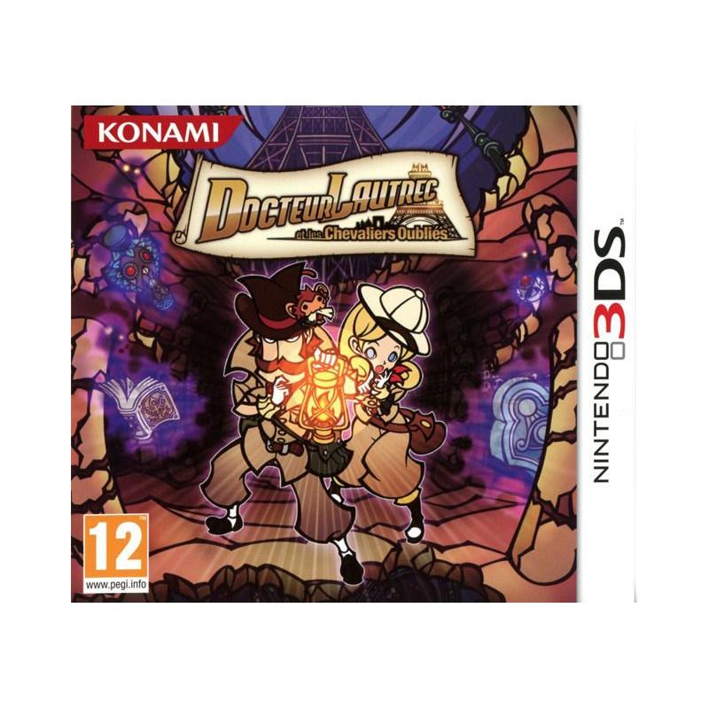 Docteur Lautrec et les Chevaliers Oubliés 3DS