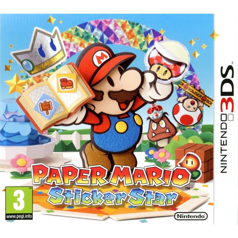Paper Mario : Sticker Star 3DS