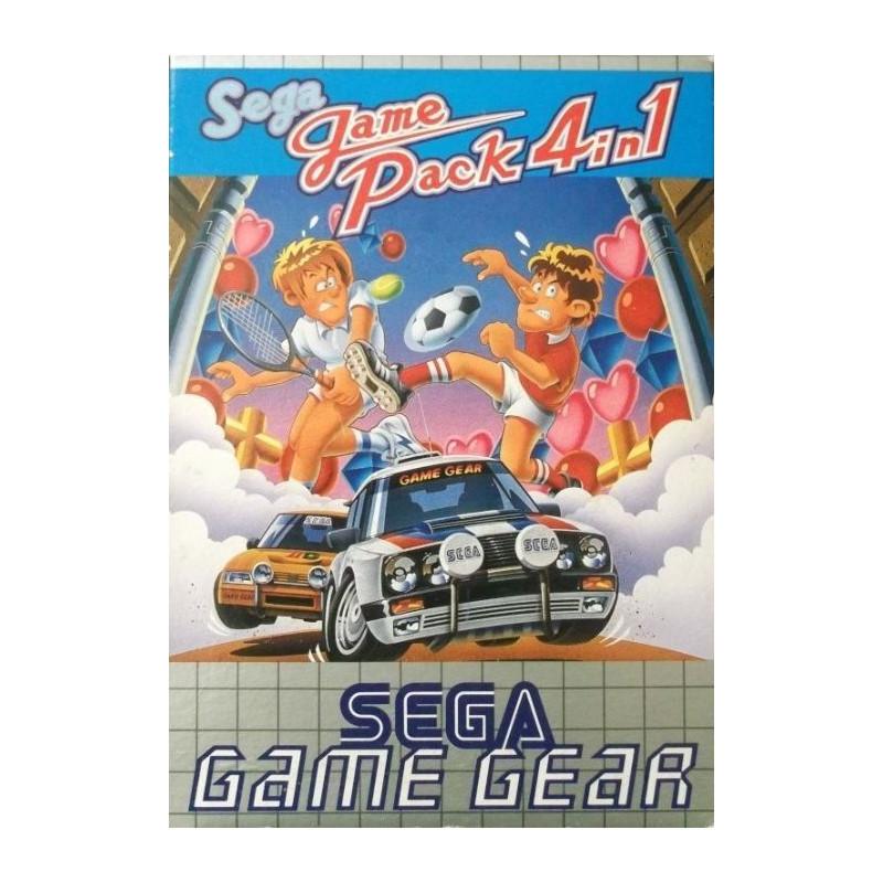 Sega Game Pack 4-in-1 GG