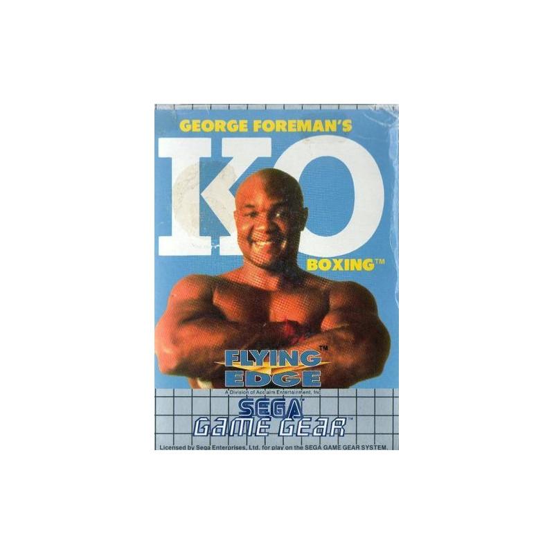 George Foreman's KO Boxing GG