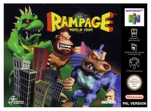 Rampage : World Tour N64
