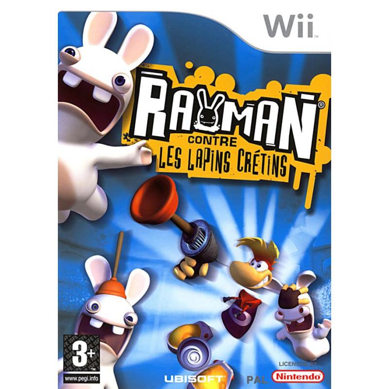 Rayman contre les Lapins Crétins Wii