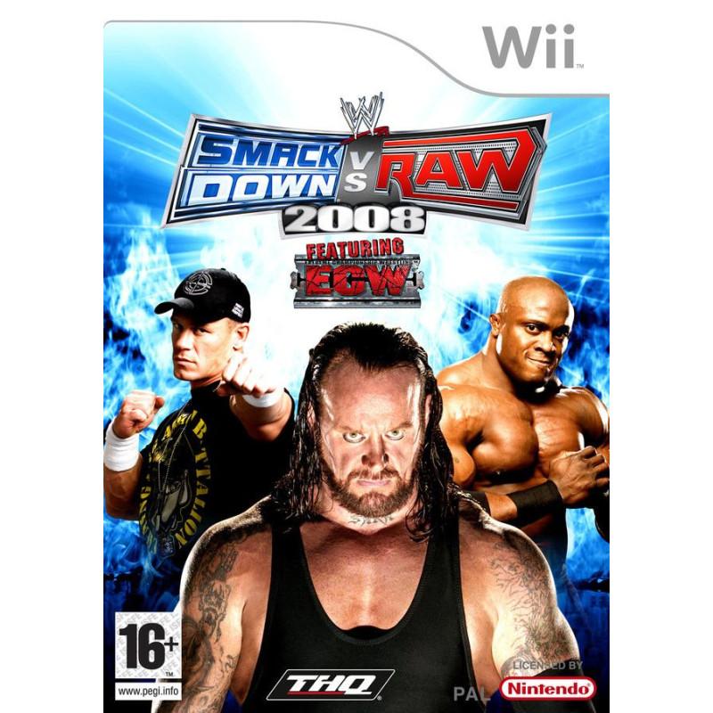 WWE Smackdown vs Raw 2008 Wii
