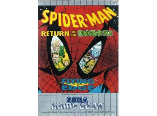Spider-Man : Return of the Sinister Six GG