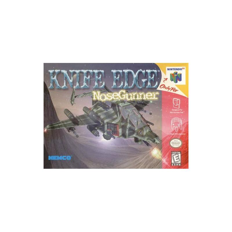 Knife Edge : Nose Gunner N64