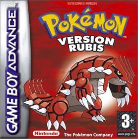 Pokémon Version Rubis GBA