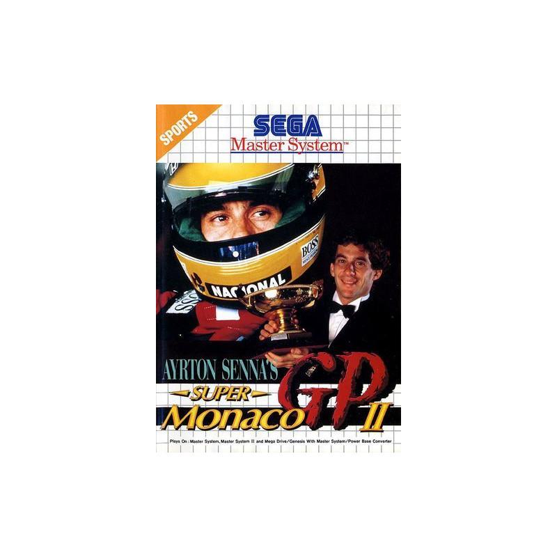Ayrton Senna's Super Monaco GP II en boîte MS
