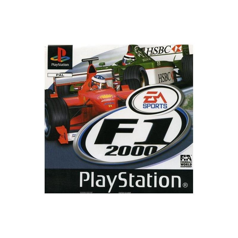 F1 2000 sous Blister PSX